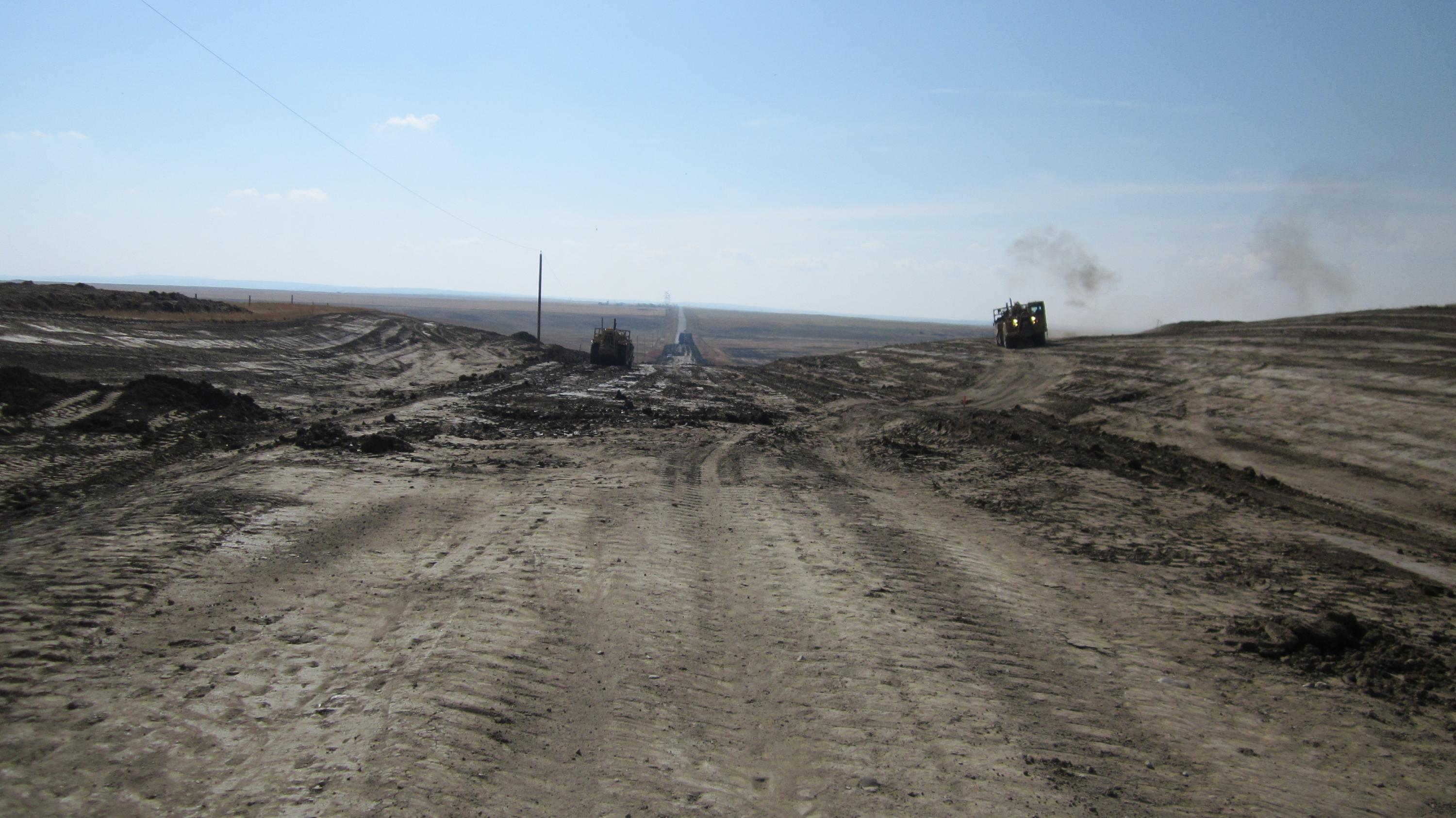 Road Construction in Cypress County